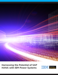 Harnessing the Potential of SAP HANA with IBM Power Systems