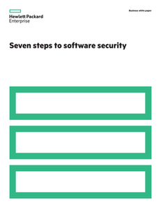 Seven Steps to Software Security
