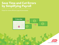 Save Time and Cut Errors by Simplifying Payroll