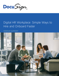 Digital HR Workplace – Simple Ways to Hire and Onboard Faster