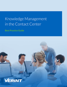 Knowledge Management in the Contact Center: Best Practice Guide