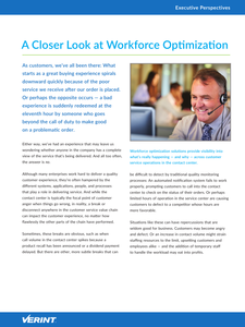 Executive Perspectives: A Closer Look at Workforce Optimization