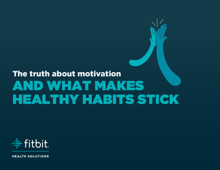 The truth about motivation and what makes healthy habits stick