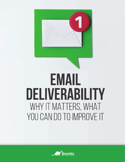 Email Deliverability: Why it Matters, What You Can Do to Improve it
