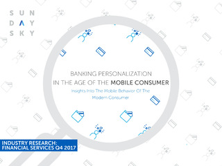 Banking Personalization In the Age of the Mobile Customer