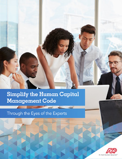Simplify the Human Capital Management Code