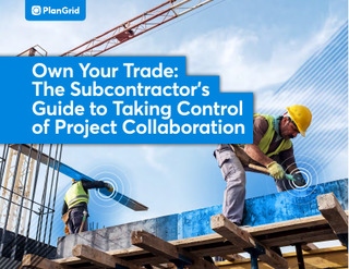 Own Your Trade: The Subcontractor's Guide to Talking Control of Project Collaboration