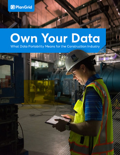 Own Your Data: What Data Portability Means for the Construction Industry
