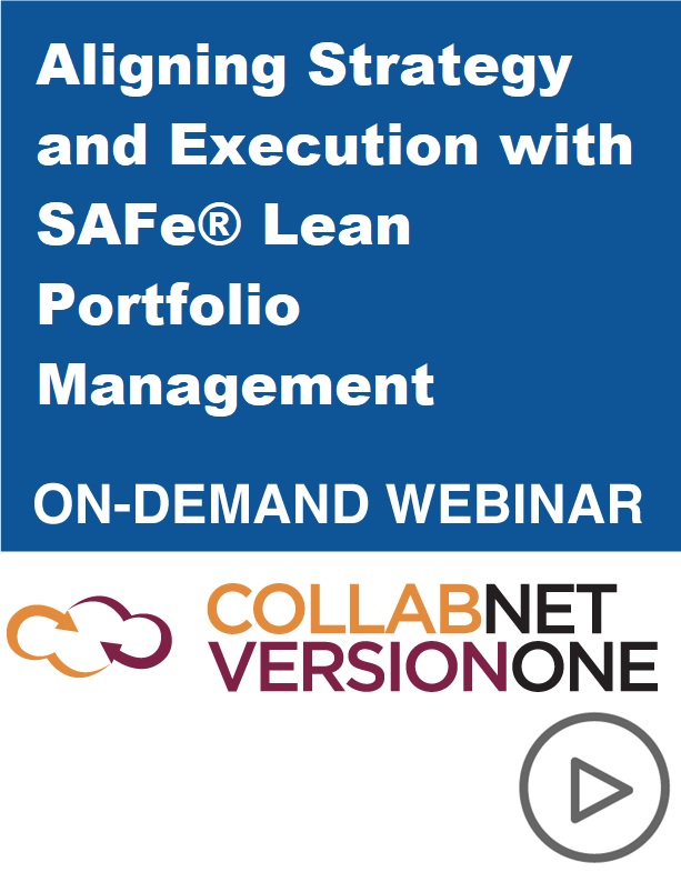 Aligning Strategy and Execution with SAFe® Lean Portfolio Management