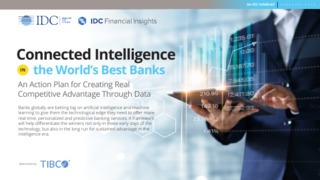 IDC Analyst Infobrief: Connected Intelligence in Banking