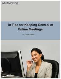 10 Tips for Keeping Control of Online Meetings
