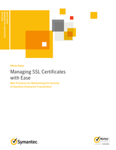 Managing SSL Certificates with Ease