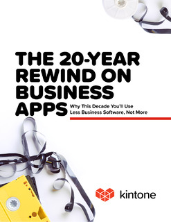 The 20-Year Rewind on Business Apps