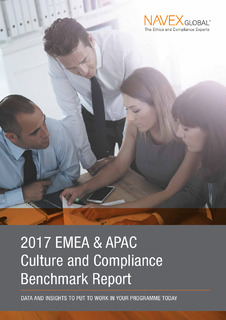 2017 EMEA Culture & Compliance Programme Benchmark Report