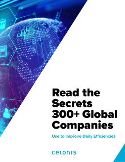 Read the Secrets 300+ Global Companies Use to Improve Daily Efficiencies