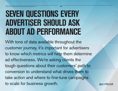 7 Questions Every Advertiser Should Ask About Ad Performance