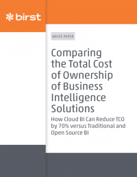 Comparing the Total Cost of Ownership of Business Intelligence Solutions