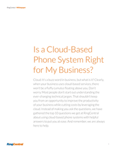 Is a Cloud-Based Phone System Right for my Business?
