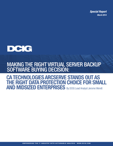 Making the Right Virtual Server Backup Software Buying Decision