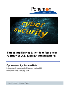 Threat Intelligence & Incident Response:  A Study of U.S. & EMEA Organizations