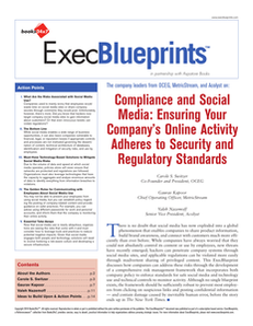 Compliance and Social Media: Ensuring Your Company's Online Activity Adheres to Security Standards