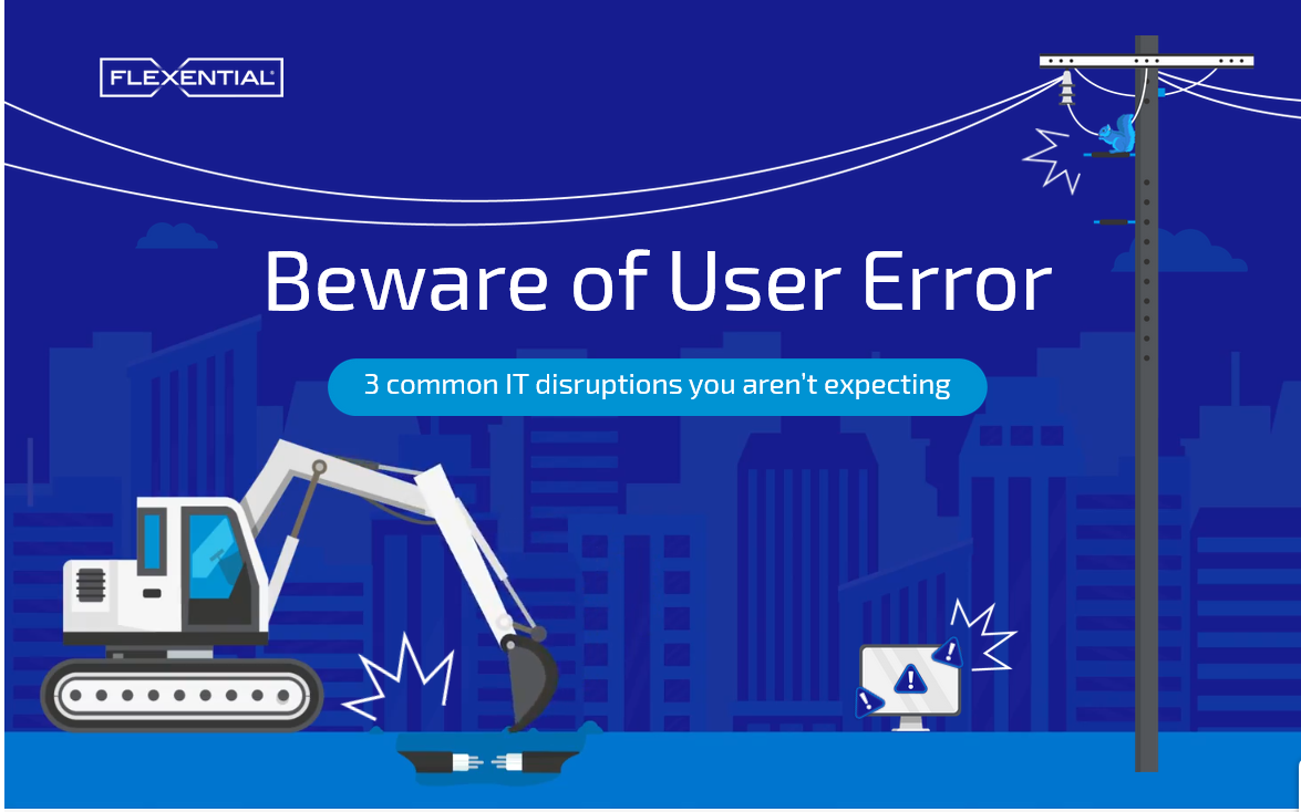 [Infographic] 3 Common IT Disruptions You Aren't Expecting