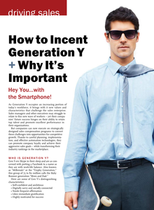How to Incent Generation Y and Why It's Important