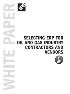 Selecting ERP for Oil and Gas Contractors
