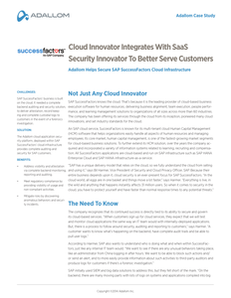Not Just Any Cloud Innovator