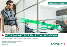 Be the One Who Puts Security on the Agenda