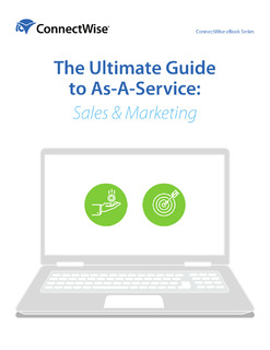 The Ultimate Guide to As-a-Service: Sales & Marketing