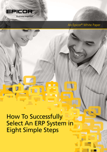 How to Successfully Select An ERP System in Eight Simple Steps