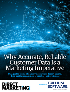 Why Accurate, Reliable Customer Data is a Marketing Imperative
