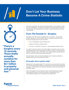 Don't Let Your Business Become a Crime Statistic