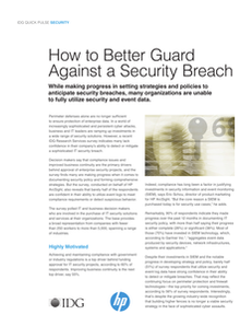 SIEM QuickPulse – How to Better Guard Against a Security Breach