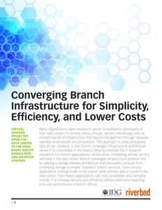 Converging Branch Infrastructure for Simplicity, Efficiency, and Lower Costs