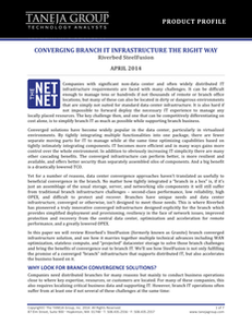 Converging Brach IT Infrastructure the Right Way