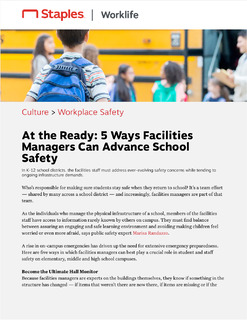 At the Ready: 5 Ways Facilities Managers Can Advance School Safety