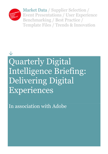 Delivering Digital Experiences
