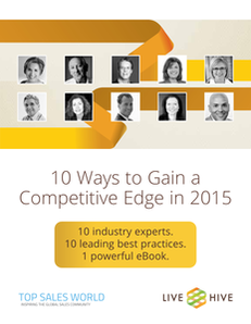 Ten Ways to Gain a Competitive Sales Edg