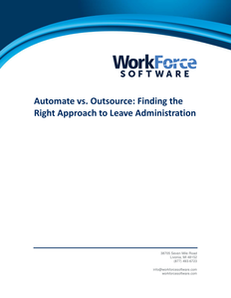 Automate vs. Outsource: Finding the Right Approach to Leave Administration