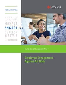 Employee Engagement: Against all Odds