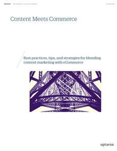 Content Meets Commerce