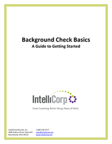 Background Check Basics: A Guide to Getting Started