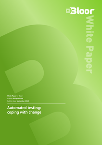Automated Testing: Coping with Change