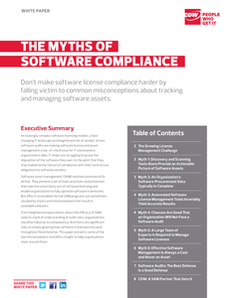 The Myths of Software Compliance