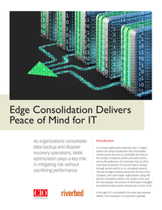 Edge Consolidation Delivers Peace of Mind for IT