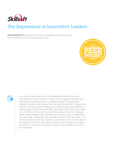 The Importance of Innovative Leaders