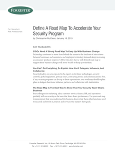 Forrester Define a Roadmap