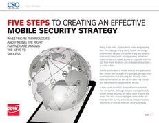 Five Steps to Creating an Effective Mobile Security Strategy
